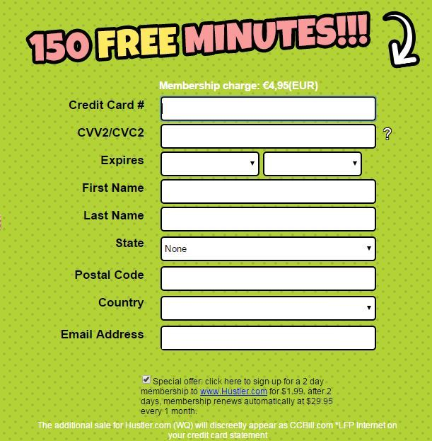 Claim Free Minutes Today