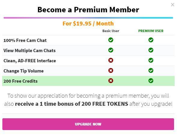how to cancel premium camsoda