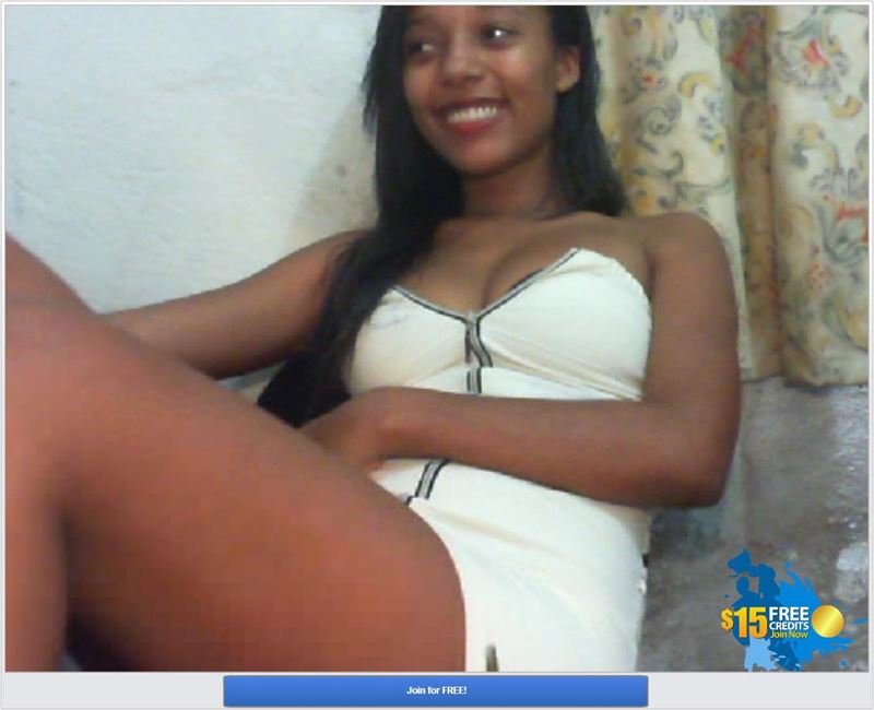Screenshot of Ebony Webcam Chat at Cams.com