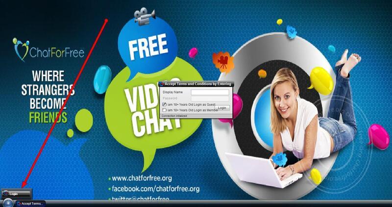 Screenshot of ChatForFree.org Homepage