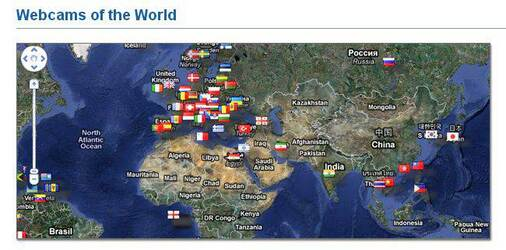 Screenshot of Map Search