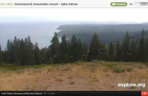 Screenshot of Lake Tahoe Cam