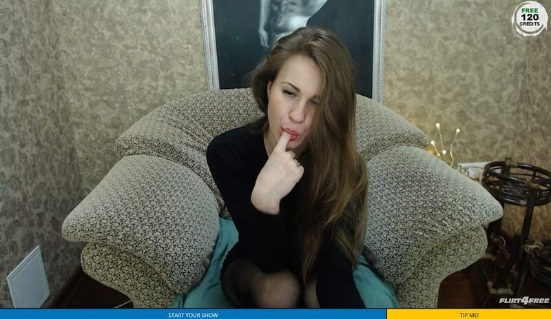 Flirt4Free Bitcoin camgirl