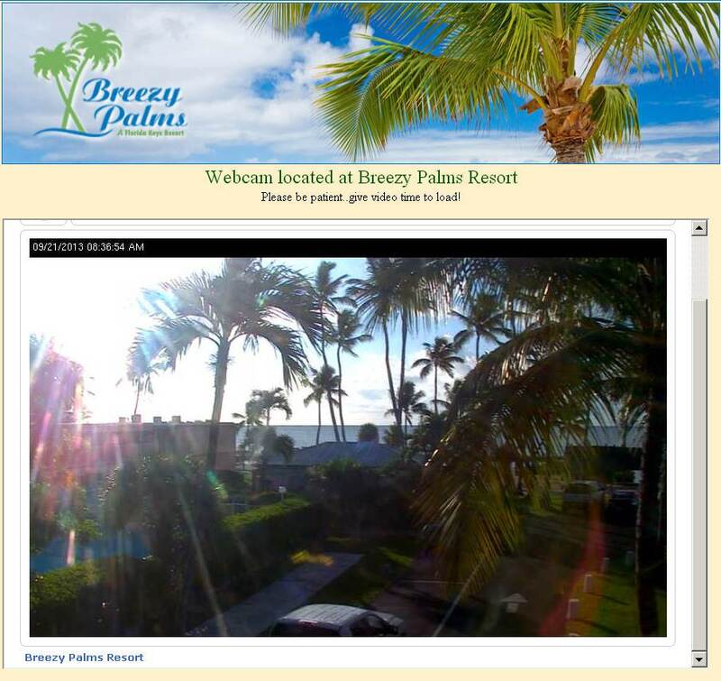 Screenshot of Breezy Palms Resort Cam