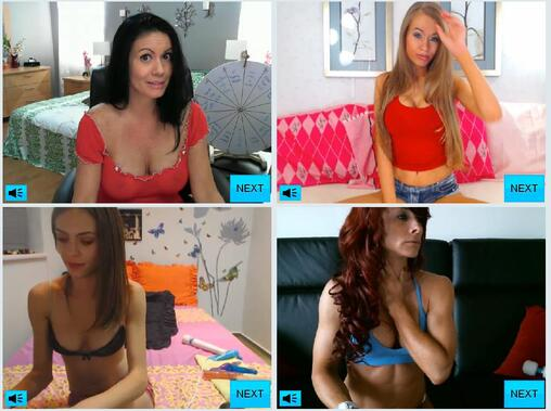 Screenshots of Random Cam Models