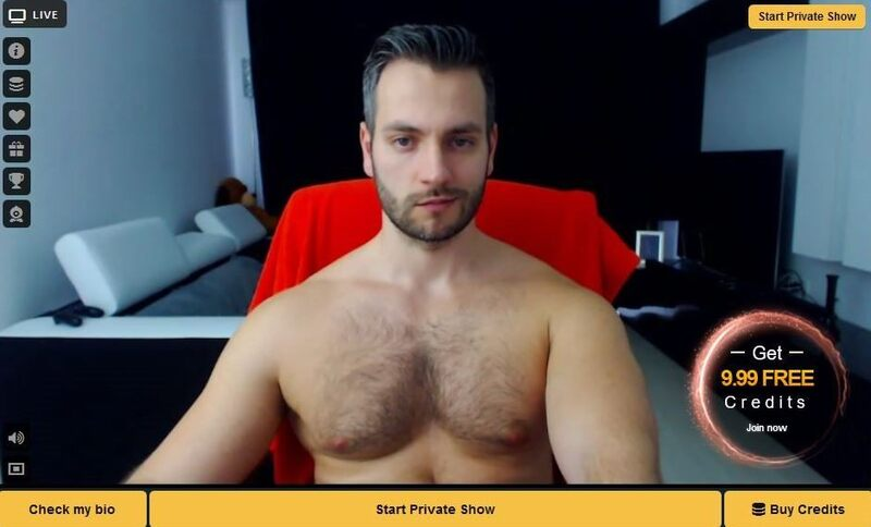 HD screenshot from a gay webcam chat room on CameraBoys