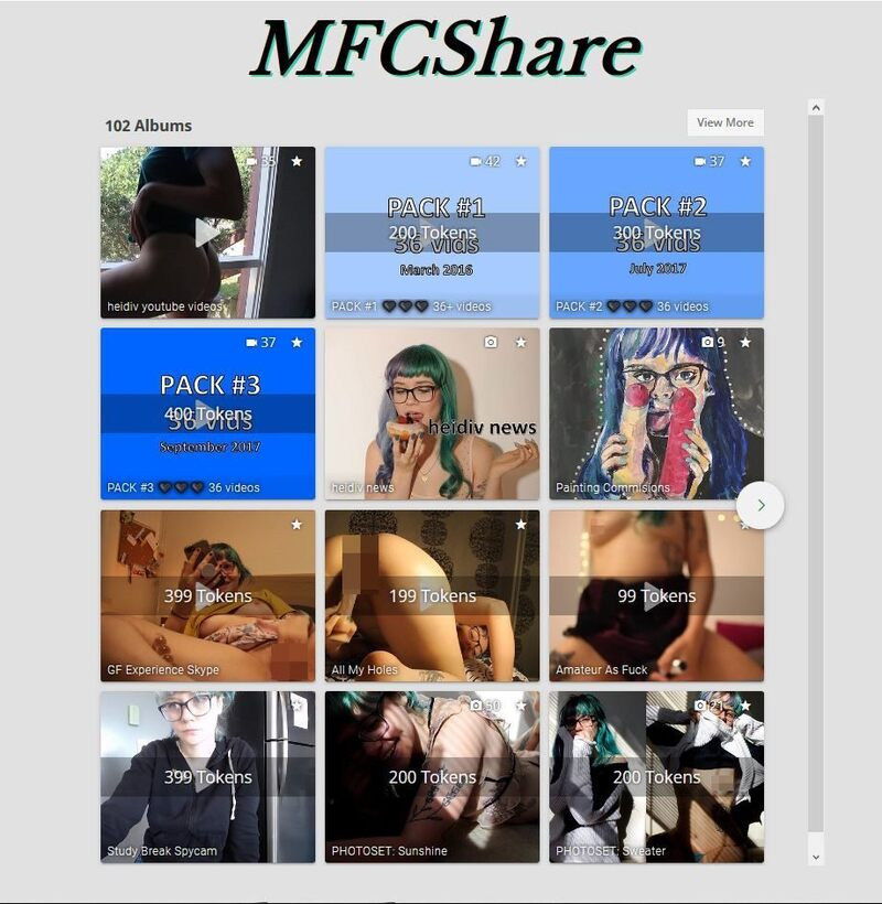 MyFreeCams model videos