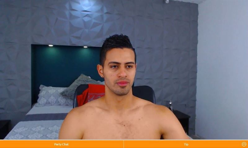 Gay live porn host on Cams.com