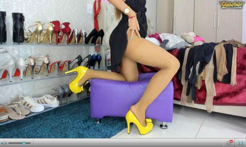 Chaturbate has the biggest collection of high heels cams