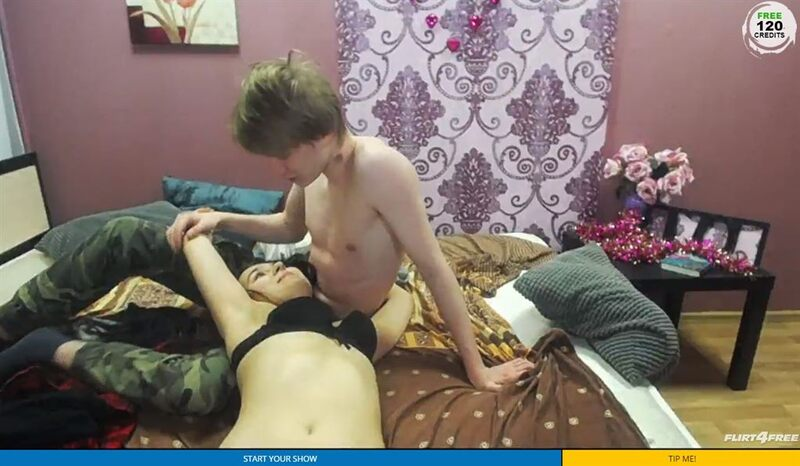 A live couples chat room on Flirt4Free