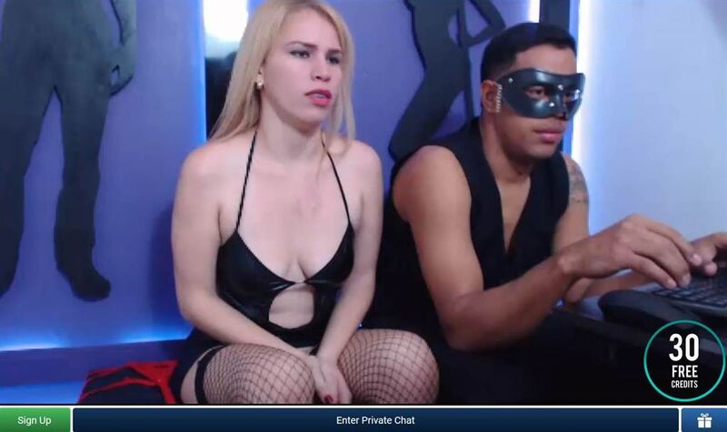 A BDSM cam couple on ImLive