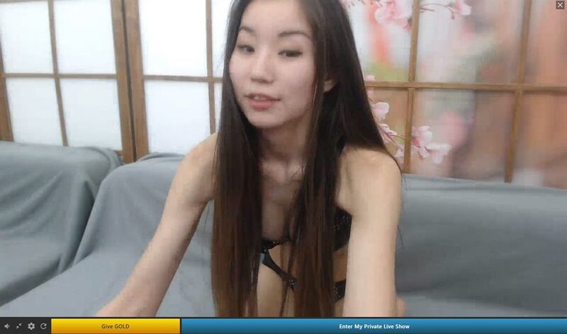 Asian webcam model live on Streamate