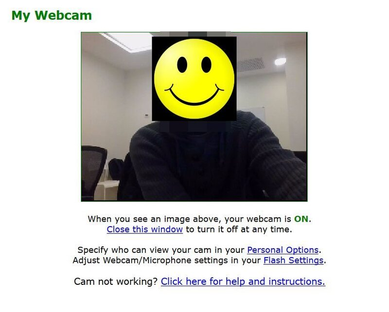 What your chat room will look like on MyFreeCams
